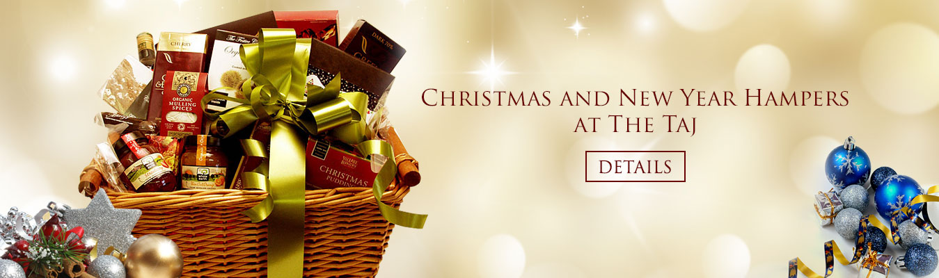 Christmas and New Year Specials at The Taj