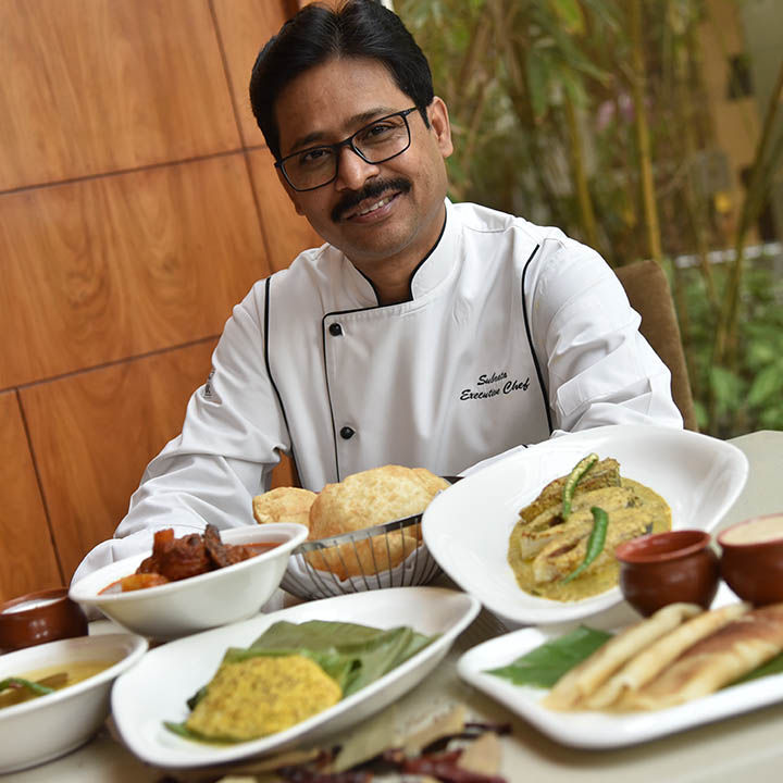 Executive Chef Subrata Debnath