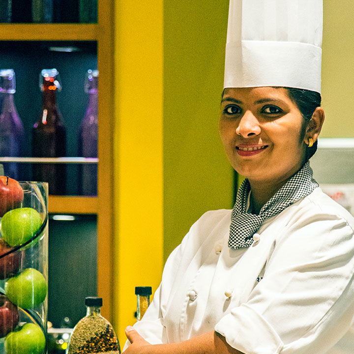Sous Chef Shrutika Koli