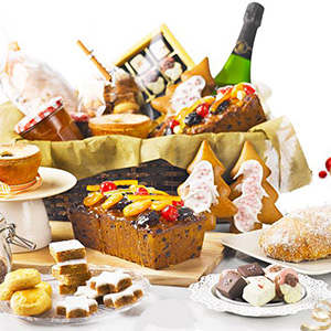 Christmas Goodies and Festive Hampers at Tea Lounge