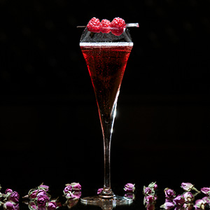 February's Cocktail: The Valentine at St. James Courtyard