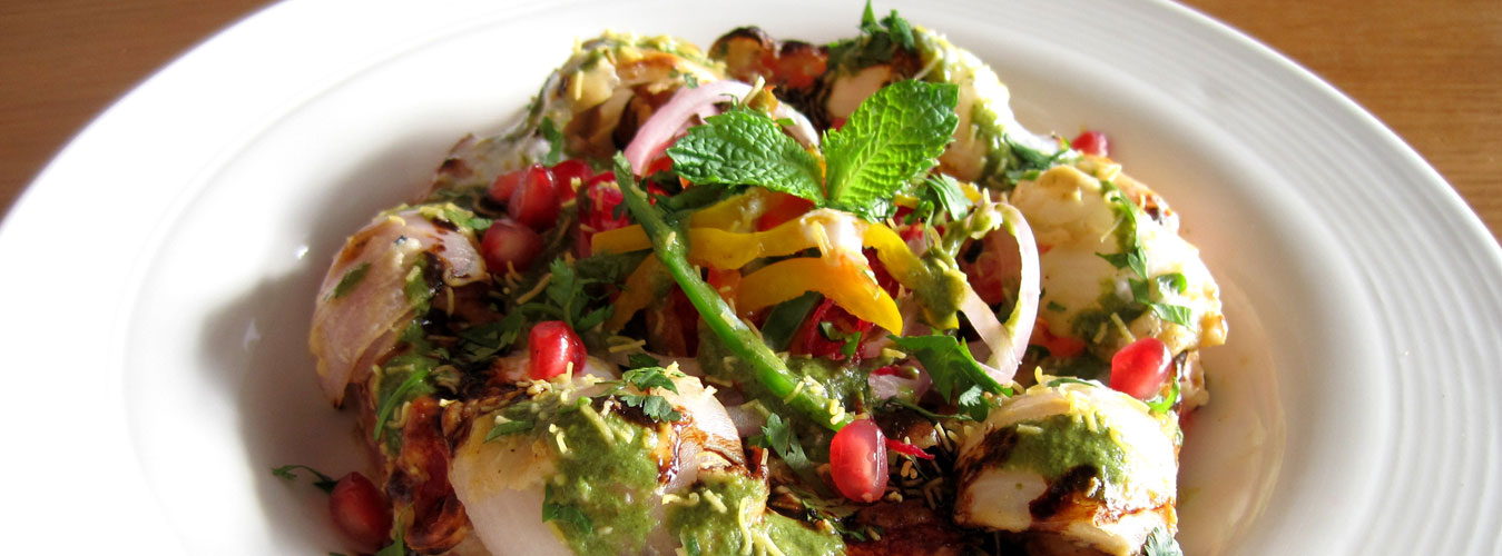 Tandoori Mint & Watermelon Chaat