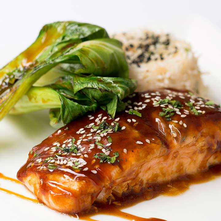 Teriyaki Roasted Salmon